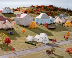 Landscape with Houses by James Casebere