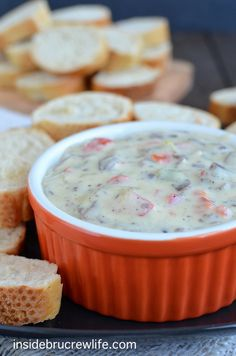 Philly Cheese Steak Queso Dip - the taste of a Philly Cheese Steak sandwich in a melted queso dip