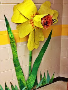 Paper Daffodil: it's an HSES Arty Party!