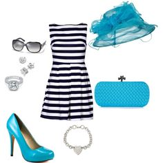 Great idea for Derby outfit!