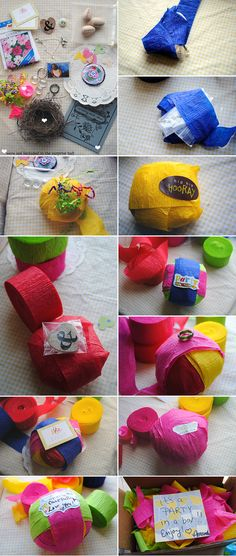 party favors, balls, gift ideas, surprise gifts, surpris ball, handmade gifts, small gifts, kid, parti