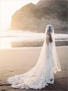 beach bridal session ideas #vintagegown #bridallook #weddingchicks http://bit.ly/1j2Ab8Z