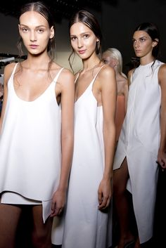 We're dreaming of tube shifts and delicate camis. #LucasNascimento. #ss14 #lfw #topshopsupports
