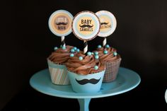Mustache themed baby shower in honor of the little man coming into your life. #babyshower #littleboys