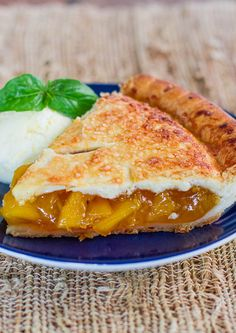 Perfect Peach Pie - my favorite summer pie with my favorite fruit!