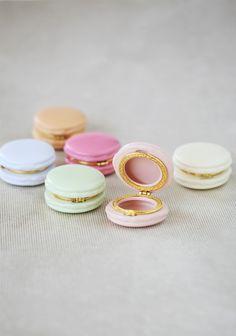 Confection Macaron Trinket Boxes
