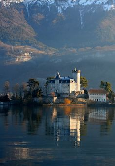 Duingt Castle, France