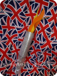 How to make an Olympic torch - for Family Olympics