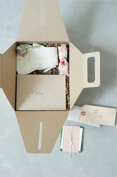 bridesmaid ideas in a box. (;