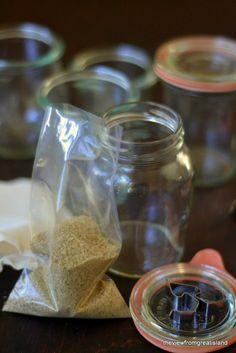 DIY Wild Porcini Salt by theviewfromgreatisland: A wonderful gift. #Spices #Salt #Flavored_Salt #Porcini