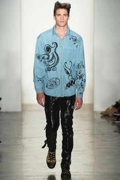 Jeremy Scott Spring 2014 Ready-to-Wear Collection Slideshow on Style.com