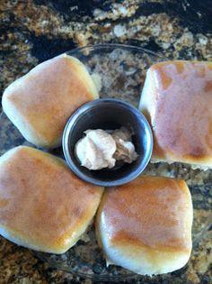 Perfect Imitation Texas Roadhouse Rolls w/ Sweet Cinnamon Butter : ultimatebaker