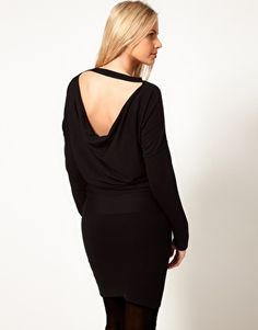 ASOS Maternity Knitted Dress With Cowl Back  $52.77