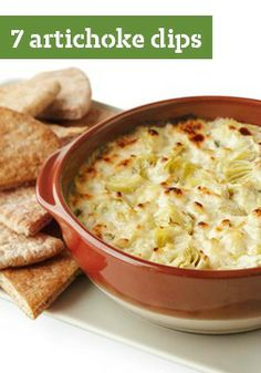7 Artichoke Dip Recipes — Let's get to the heart of the matter: People at a party are always looking for the artichoke dip on the appetizer table. We've got recipes for every kind of artichoke dip -- hot or cold.
