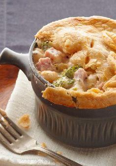 sour cream, ham pot pie, food yummi, gluten free, chees pot, pot pies, yummi food, sausage gravy, comfort foods