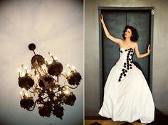 Queen of Hearts #wedding #valentinesday #blackandwhite    lovetoastblog.com...