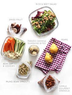 Healthy travel snacks from My New Roots - love all her recipes