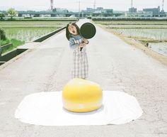 Big sunny‐side up eggs!!! by Toyokazu, via Flickr