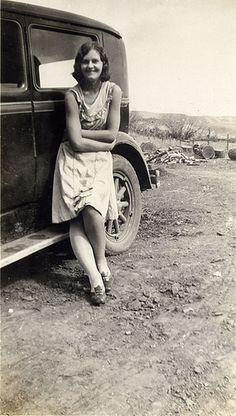 1930's girl