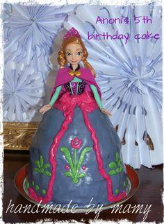 Anoni's 5th birthday cake