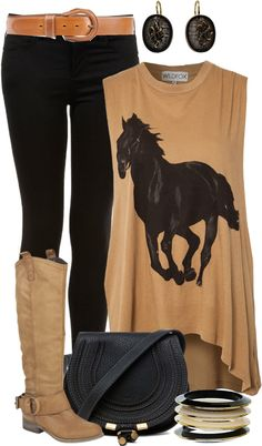 """Horsin' Outfit"" by angela-windsor on Polyvore"