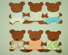 Goldilocks and the three bears theme