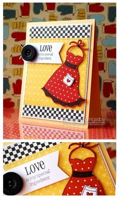 Cute sundress with dress up framelit - Stampin Up card using Dress Up | http://pet-boy.blogspot.com