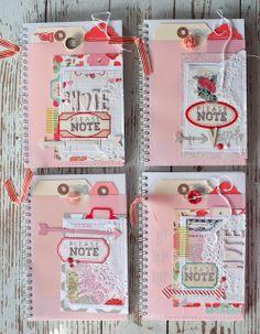 Mish Mash blog. Lovely notebooks