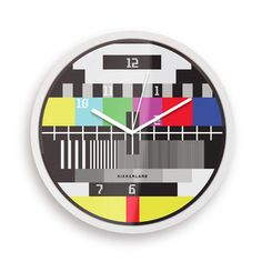 Test Screen Clock now featured on Fab.