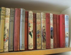 Famous Five Books... loved them all