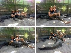 Ashley & Chris from the gator boys...love them
