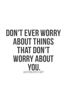 Solid advice