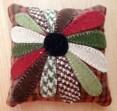 Quilting adventures, pin cushion