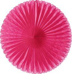 "14"" Tissue Paper Medallion - Pink"