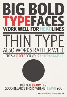 #type #layout #design