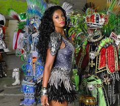 Camila Silva will lead Samba schools in both Rio de Janeiro and São Paulo in 2013