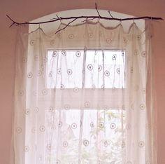DIY: Curtain rail.