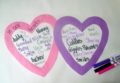 Heart Collages for kindness and friendship #readforgood
