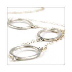 Silver Loops Necklace