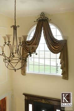 Drapes and Curtains for Arched Windows