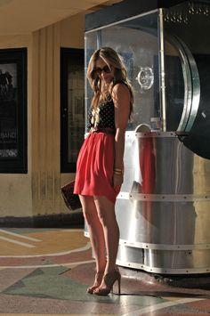 Jeans Skirt #2dayslook #lily25789 #JeansSkirt  www.2dayslook.com
