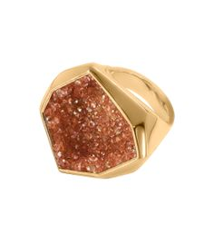 Arik Levy Gold Swarovski Crystal Ring – Can't make it to Miami for #ArtBasel? Shop our pop-up boutique at #ShopBAZAAR! http://shop.harpersbazaar.com/miami-art-basel-2013/