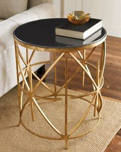 Horchow side table via Copy Cat Chic  I have always admired this table, but check out the link to Copy Cat Chic!