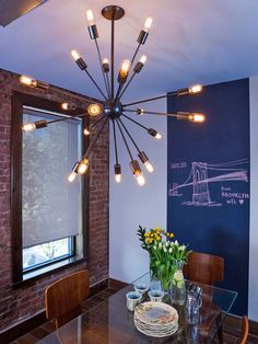 Win a Free Vintage-Style Sputnik Chandelier (http://blog.hgtv.com/design/2014/09/12/freebie-friday-win-an-industrial-sputnik-chandelier/?soc=pinterest)