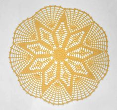 Rays of Hope Doily » Crochet Memories Blog FREE for a limited time!  Our sunny Rays of Hope Doily is perfect for summer!  The design bursts outward like the sun's rays but this doily would be beautiful worked in any color to suit one's taste!  Expires next Tuesday, July 8th, 2014!