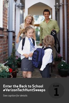 Capturing those perfect first day of school photos is a feat that isn't for the faint of heart. But having a camera that shoots quality snapshots can lessen the headache. Pin the Verizon device you would use to grab that first-day photo, then register for a chance to win the Back to School Verizon Tech Hunt Sweepstakes prize today!  #VerizonTechHuntSweeps!