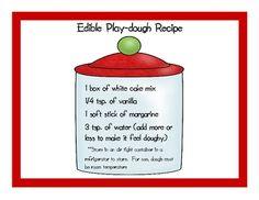 Edible Play-dough Recipe