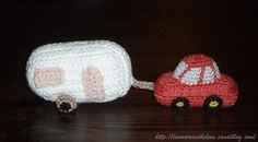 Car and caravan #crocheted could you please send me the pattern so I can make some for the kids at our shelters thank you so much