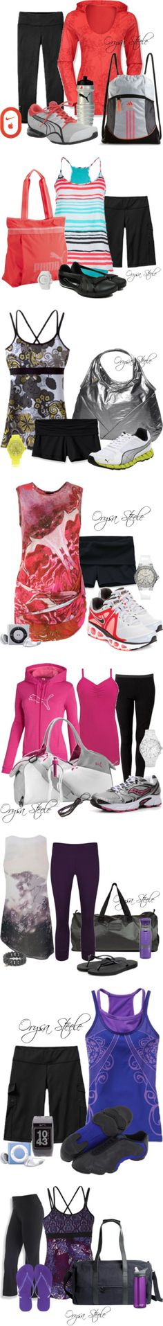 """Fitness"" by orysa on Polyvore"