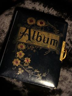 Victorian Cemetery Photo Album at Gothic Rose Antiques